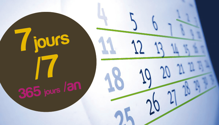 Calendrier des interventions